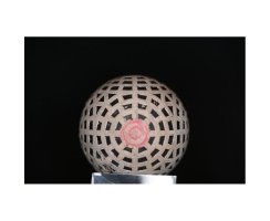 Antiker Golfball Art Deco Nr. 007