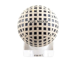 Antiker Golfball Art Deco Nr. 026