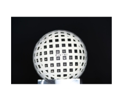 Antiker Golfball Art Deco Nr. 028
