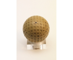 Antiker Golfball Art Deco Nr. 063