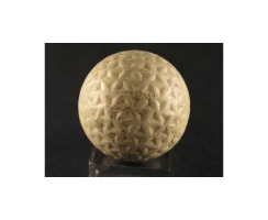 Antiker Golfball Nr. 05 SPALDING NEEDLED