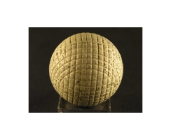 antique golf ball no. 41 gutty ball