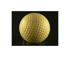 antique golf ball no. 44 Guttyball