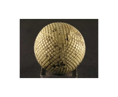 antique golf ball no. 45 Guttyball