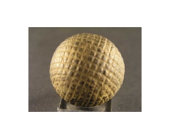 antique golf ball no. 46 Guttyball