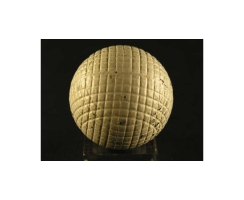 antique golf ball no. 49 Guttyball