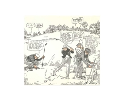 Comic Nr. 14 Clare Briggs The Second Tee
